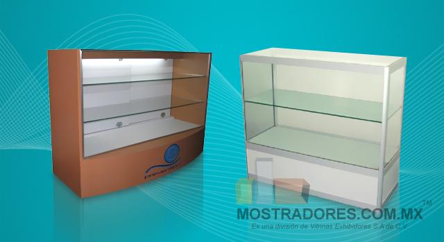 Mostradores mostrador mostradores de cobro mostrador - Vitrinas de madera y vidrio ...